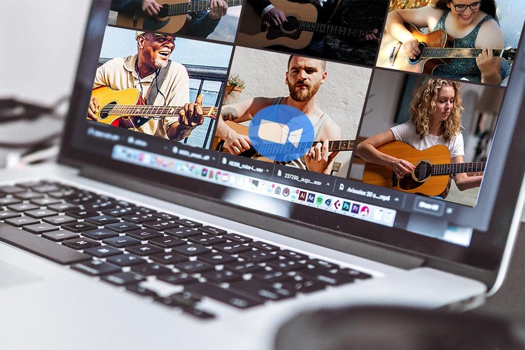 live online guitar lessons courses